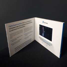 Video Booklet 5 Zoll HD Bildschirm für Optimizely